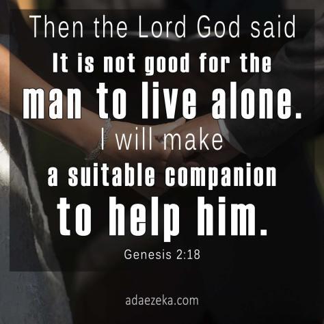 Family-Life-Wifehood-Ada-Ezeka-Genesis-2-18