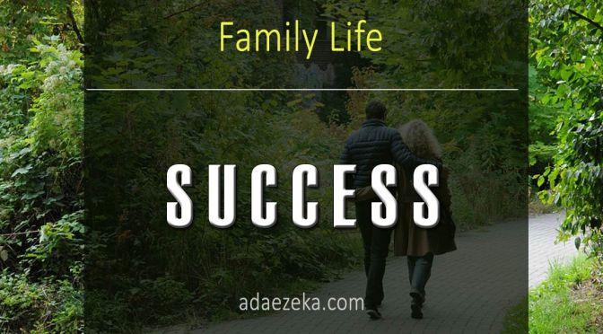 SUCCESS |  having a partner opens doors to divine favor